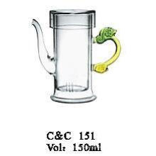 New Design Clear Glass Teapot/Glass Teapot for Gas Cooker/Glass Teapot
