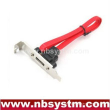 HTPC case special slide plate, eSATA short plate cable, Barebone half height plate