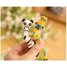 Popular Cartoon Soft Pvc Rubber Winder