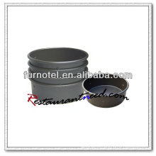 V373 Alumínio Alloy Hard Anodized Round Cake Pan