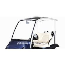 Pare-brise de voiture de golf acrylique teinté de qualité supérieure
