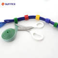 100% Nylon doppelseitiger Haken Kabelbinder Hook Loop