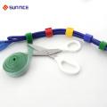 Laço de nylon tomado partido dobro de nylon do gancho das amarrações de cabo de 100%