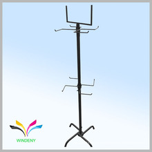 Supermarket rotating accessories hanging display wire racks