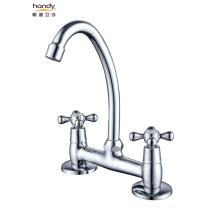 Bathroom  Double Handles Faucet Basin Mixer