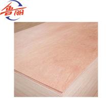 Chapa de madera contrachapada comercial de 1220 x 2440 mm