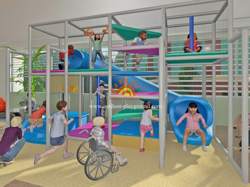 Soft Play Structures Indoor Playground For Kids