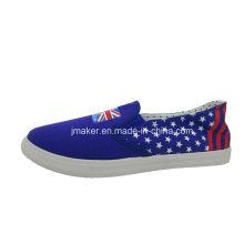 2016 hombres de moda Unionflag resbalón en los zapatos