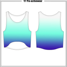Plus Size Custom Sportswear Women Sport Tank Top