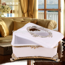 Home decoration figure antique imitation decorative useful tissue box wholesale