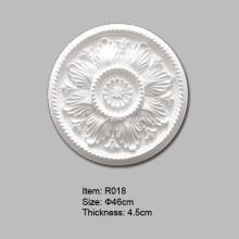 Круглая полиуретановая потолочная роза