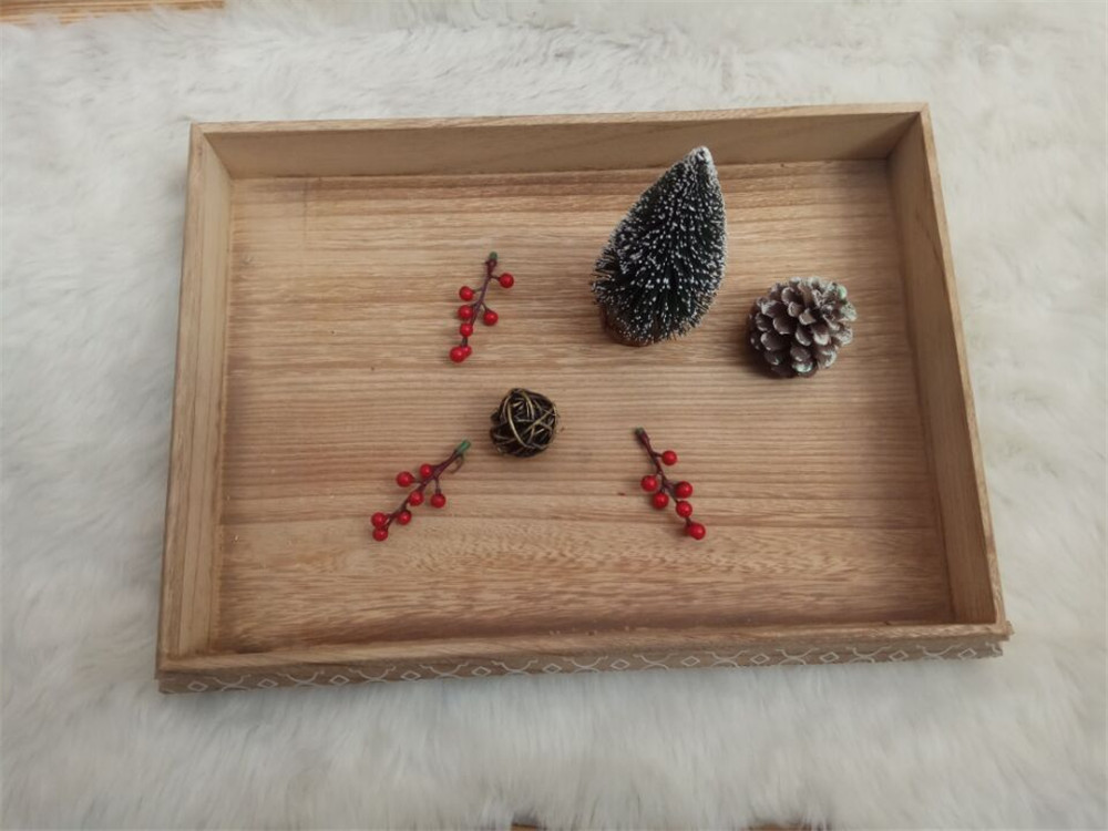 creative woodn tray