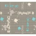 Nuevo Diseño Spunlace respaldo PVC impreso Mantel Factory (TJ3D0004)