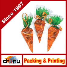 Cellophane Carrot-Shaped Goody Bag (210221)