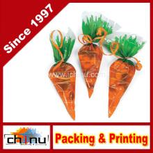 Cellophane Carrot-Shaped Goody Bag (210221)