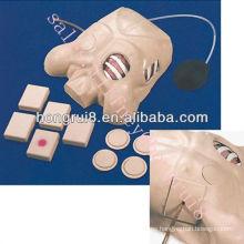 Maniquí de drenaje pleural de ISO, Descompresión de neumotórax, modelo de entrenamiento de enfermería