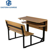 School Furniture Wooden Metal Student Chair and Table for Kids