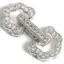 Fermoir à ressort Fermoirs Micro Connecteur Composants pour bijoux Collier
