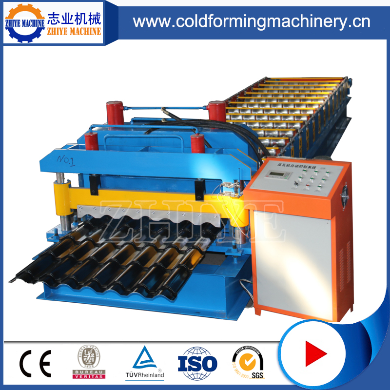 Botou CE Standard Colored Steel Glazed Tile Forming Lines