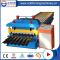 Steel Step Roof Glazed Tile Cold Forming Machine