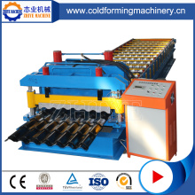 ZhiYe Glazed Tile Roofing Machine PLC Controlled Zinc
