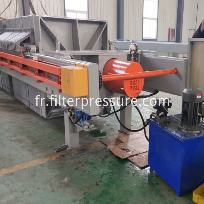 Sugar Syrup Chamber Filter Press 6