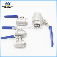 Fast Delivery Stainless Steel 1 pc ball valve female thread
