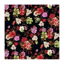 Tissu de georgette de polyester d'impression personnalisée numérique à faible MOQ