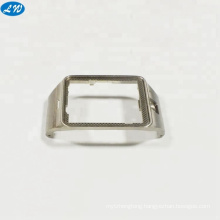 OEM customized CNC machining stainless steel watch case back components