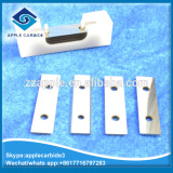 Double cutting edge tungsten carbide insert for wood cutting
