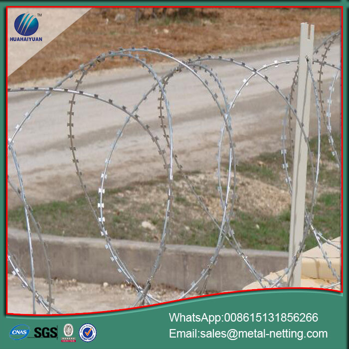 anti climb concertina wire