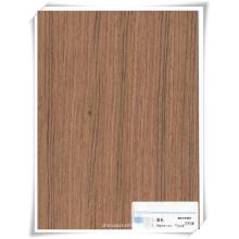folheado de madeira teca projetado para construção / decoração / mobiliário