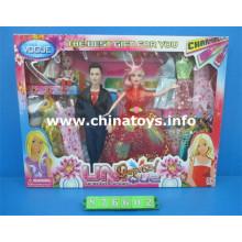 Hermosas muñecas de plástico para juguetes de niña (876602)