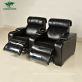 2021 New Design Black Leather Sofa Cinema Power Supply Recliner Best Recliners Theater Chair Sofa