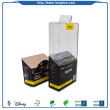 PVC PET PP Plastic Box for Earphone Packaging