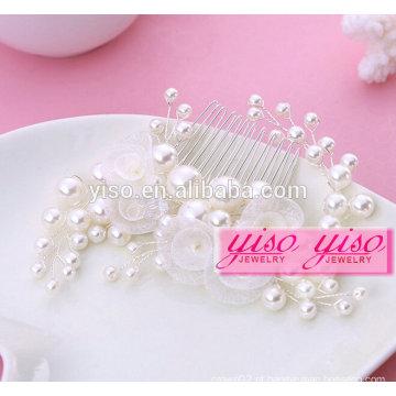 Presente de venda quente damas femininas de noiva moda penteados de cabelo da menina