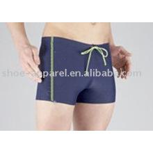 Pantalones cortos de natación de precio bajo de fábrica personalizados para hombres, pantalones cortos de natación