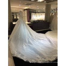 Echtes Foto Heirat Hochzeitskleid