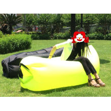 Saco-cama inflável do lugar frequentado de nylon de Lamzac do produto novo