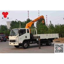 Hot sale reasonable price for Small Truck Mobile Crane 5 ton truck with crane export to Burundi Manufacturers