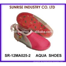 SR-12MA025-2 Nizza Mädchen weichen TPR Strand Aqua Schuhe Kunststoff Strand Schuhe Aqua Schuhe Wasser Schuhe Surfen Schuhe