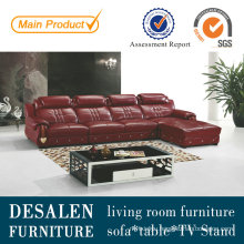 China Leather Sofa, Living Room Furniture, Factory Price Good Quality (A818)
