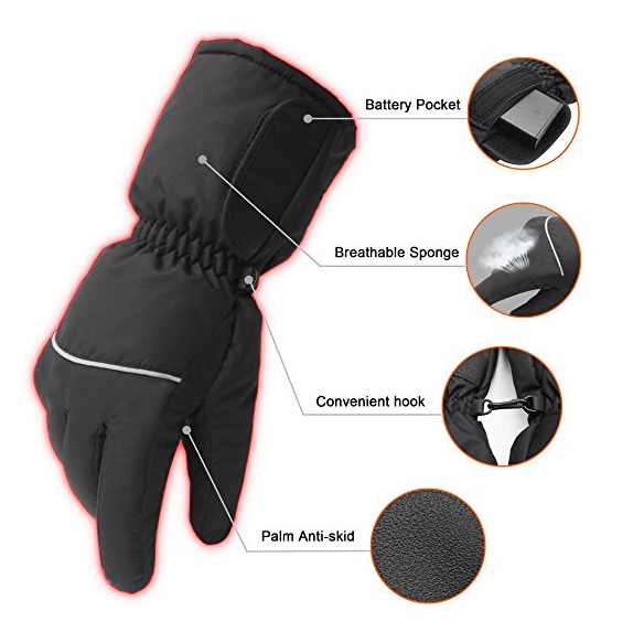 Fiber Electric Shock gloves