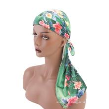 Bonés de turbante de veludo premium bandanas hat hijab muçulmano