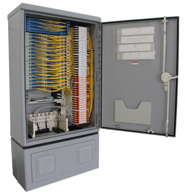 Fiber Optic Ftth Splitter Cabinet