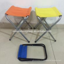 Léger en plein air, camping pêche pliante portable tabouret chaise