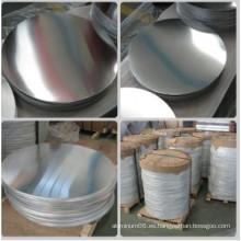 Círculo de Aluminio / Aluminio de Aluminio / Cilindro Caliente para Utensilios de Cocina (A1050 1060 1100 3003)