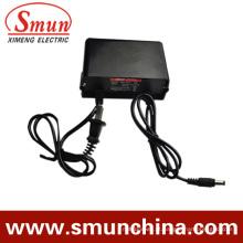 12V1a 12W Adaptador de Energia CA / CC à Prova de Chuva IP67 (SMY-12-1H)