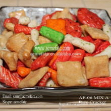HACCP&ISO fried mix rice crackers snacks in China