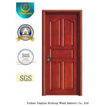 Chinese Style Water Proof MDF Door with Solid Wood (xcl-833)